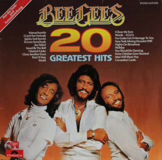 Bee Gees - 20 Greatest Hits (LP, Comp)