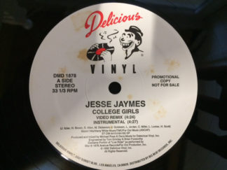 "Jesse Jaymes - College Girls (12"", Promo)"