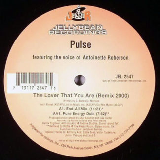"Pulse (3) - The Lover That You Are (Remix 2000) (12"")"