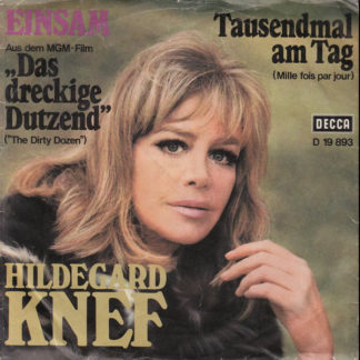 "Hildegard Knef - Einsam / Tausendmal Am Tag (7"", Single)"